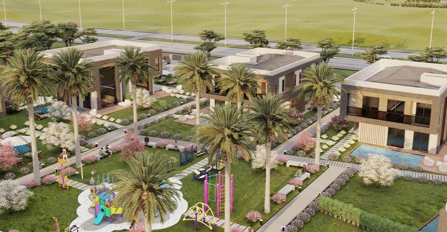 Ada Mahal Kuşadası havuzlu ve lüks projede villalar sahiplerini bekliyor