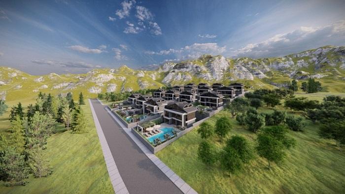 BaMendos Villaları Fethiye Haziran 2022'de teslim