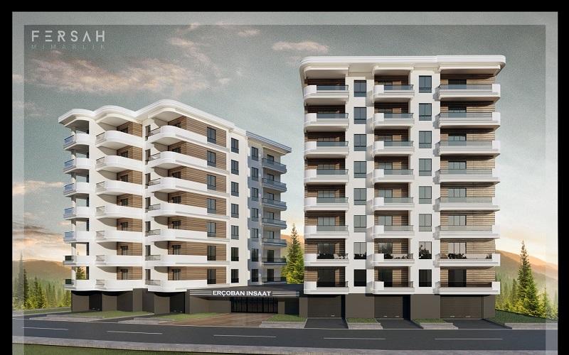 Erçoban İnşaat Şahin EvlerAralık 2021'de teslime hazırlanıyor