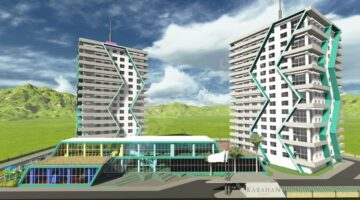 Karahan Towers Akhisar'da yükseliyor