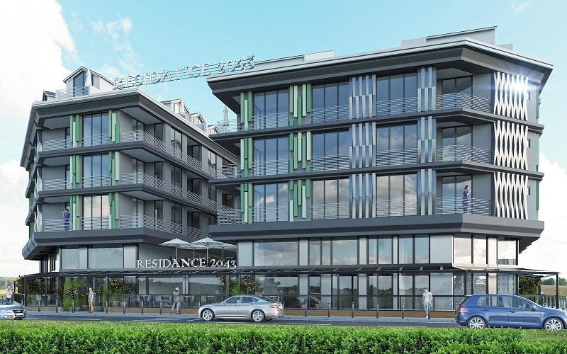 2043 Residence Dalaman rezidans daireler satışa çıktı