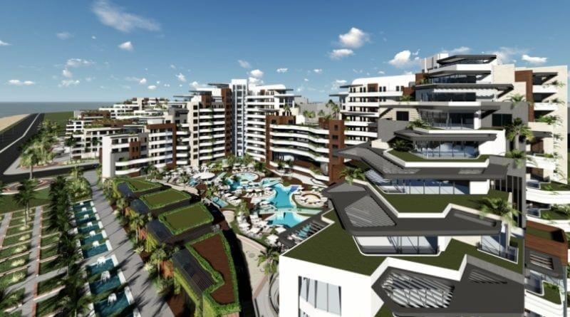 Sunis Residence Antalya'da yükseliyor