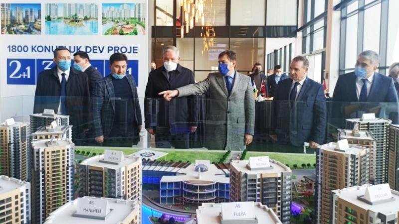 Ünsal Group'tan Özbekistan'a dev proje