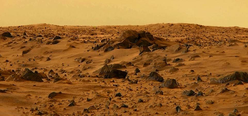 Mars'ta su bulundu! Sıvı hâlde!