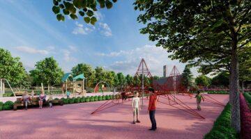 Koçarlı Millet Bahçesi 23 Nisan'a özel açılış yapacak
