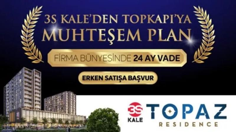 TOPAZ Residence ön lansmana özel ödemeye yöntemleriyle satışta