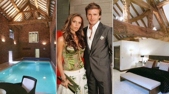 Victoria ve David Beckham çiftinin ilk aile evi satışta